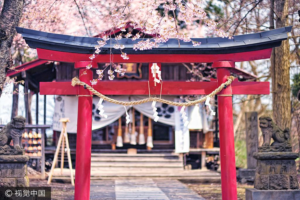 取四字姓名近来有点火 提示:起名别一味求个性——日本鸟居