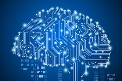 电路绘画大脑,显示科技感十足,现代起名学是科学的,并不是迷信