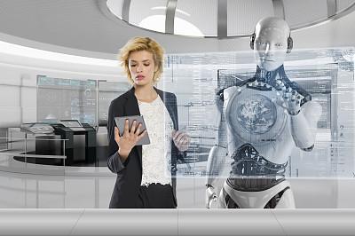 科幻感机器人