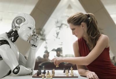 机器人与专家的对弈