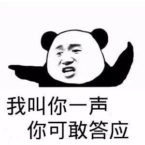 熊猫表情包,叫你一声可答应?