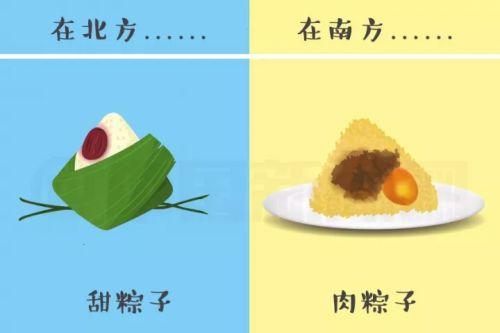 粽子咸甜之争